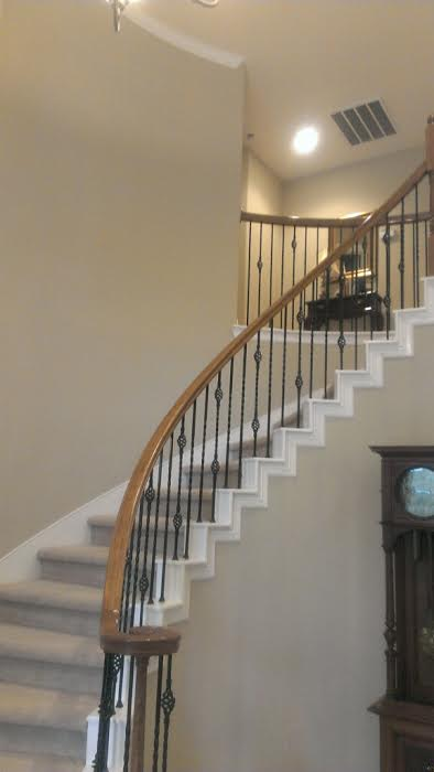 Stair Well Area Paint