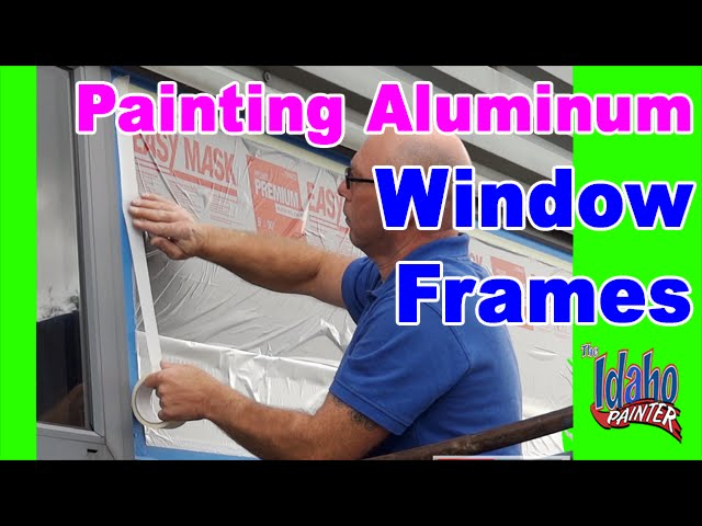 how to make paint stick to aluminum