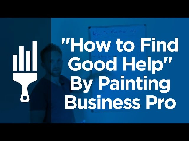 how to find a good painter and decorator