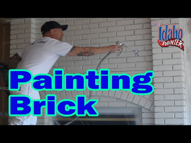 Painting A Brick Fireplace Hacks Painting Bricks Or